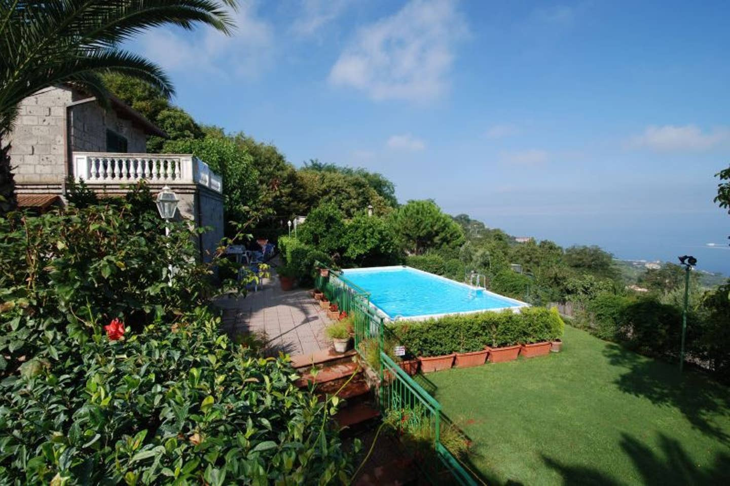 Villa On The Roof With Private Pool Around Sorrento